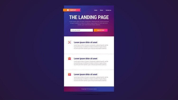 how to use bootstrap - design your landing page
