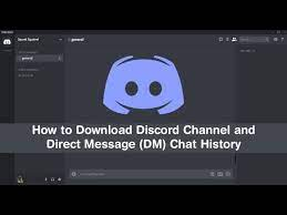 Discord chat exporter
